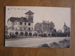 COQ SUR MER Hôtel Nancy Atlanta DE HAAN N° 88 Belgique CPA Carte Postale Postkaart - De Haan