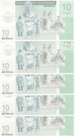 NAGORNO KARABAKH 10 DRAM 2004 UNC ( 5 Billets ) - Nagorny Karabach