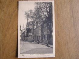 NIVELLES Rue De Soignies Animée  Brabant Wallon Belgique Carte Postale - Nivelles