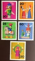 Germany 1971 Humanitarian Relief & Christmas MNH - Nuevos