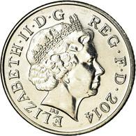 Monnaie, Grande-Bretagne, 10 Pence, 2014, TTB, Nickel Plated Steel - 1971-… : Monnaies Décimales