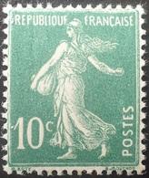 R1189/734 - 1922 - TYPE SEMEUSE CAMEE - N°159a (IA) NEUF** TRES BON CENTRAGE - 1906-38 Säerin, Untergrund Glatt