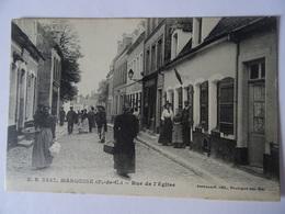 CPA MARQUISE--RUE DE L'EGLISE - Marquise