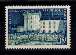 1954 YV 995 N** Villandry Cote 6 Euros - France