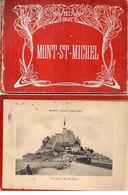MONT SAINT MICHEL - Livret Dépliant - 12 Vues  - ND Photo -   (divers 58) - Tourism Brochures