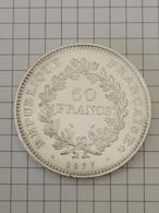 50 Francs 1977 - HERCULE - DUPRÉ - En Argent - M. 50 Francs