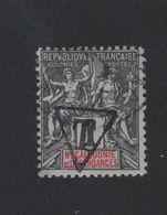 Faux Nouvelle-Calédonie N° 1 Taxe 1 C Groupe Oblitéré - Timbres-taxe