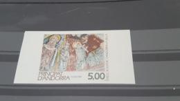 LOT 497660 TIMBRE DE ANDORRE NEUF** LUXE NON DENTELE - Französisch Andorra