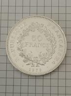 50 Francs 1978 - HERCULE - DUPRÉ - En Argent - France