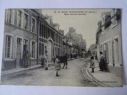 CPA--MARQUISE--RUE SAINTE-BARBE. - Marquise