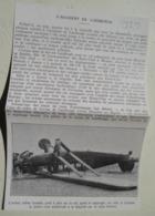 "Mexico Accident Charles LINDBERGH ""Lucky Lindy""  - Aircraft ""Stinson ""junior""  - Coupure De Presse De 1929 - Historical Documents"