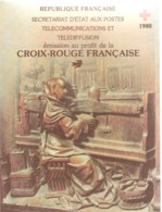 FRANCE / CARNET CROIX ROUGE 1980 N° 2024 - Red Cross