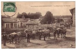 Domaine De LAROCHEBEAUCOURT - Le Départ Pour Les Champs - Francia