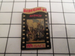 716a Pin's Pins / Beau Et Rare / THEME : CINEMA / FESTIVAL BEDECINE ILLZACH 1991 - Cinéma