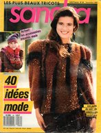 Tricot : SANDRA N°64 11/1989 - Lana