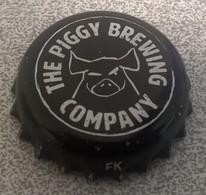 France Capsule Bière Beer Crown Cap The Piggy Brewing Company Liverdun SU - Bière