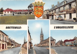BRETTEVILLE L'ORGUEILLEUSE - Multivues (CPSM Grand Format) - France