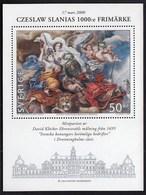 Sweden 2000 / 1000th Engravement By Czeslaw Slania, Great Deeds By Swedish Kings, Art / Lion / MNH / Mi BL 15 - Suède