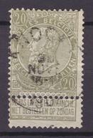 N° 59 Défauts KNOCKE - 1893-1900 Schmaler Bart