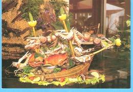 """Arvert (Royan)-Plateau De """"Fruits De Mer"""" Au Restaurant """"Les 3 Canards""""-Edit.Michel Marcou """"Le Vinet"""" Breuillet - Royan"""