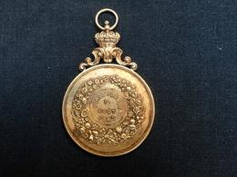 Médaille Ville De Heyst Sur Mer Corso Fleuri Du 19 Aout 1907 - Belgio