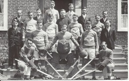 Vers 1930 - Équipe De Hockey, Ste-Anne-de-la-Pérade, Québec, Carte Photo (19.936) - Andere