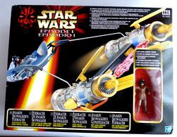 BOITE FIGURINE STAR WARS 1999 LA GUERRE DES ETOILES - VAISSEAU ANAKIN PODRACER - Power Of The Force