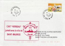 CMT VERSEAU Jumelé Avec La Ville De SAINT MAURICE Val De Marne 19/1/2009 - Poste Navale
