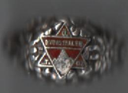 Ancienne Magnifique Bague  D  Voisthaler   Intérieur M.v.T  29/1 189_1906 Argent 40 Gr - Bagues
