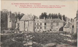CPA   50   GONNEVILLE  LE CHATEAU HISTORIQUE - Autres Communes
