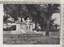 AVERSA  MONUMENTO A DOMENICO CIMAROSA  1958 - Aversa