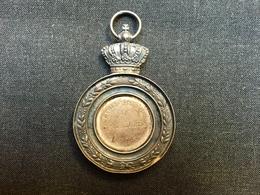 1892-1893 Belle Médaille Ecole D'architecture De Saint Luc Bruxelles Pour Ant. Podevain 1èr Prix En Argent ? - Autres