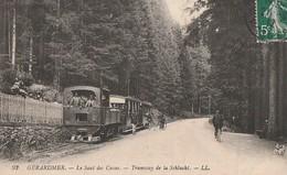 GERARDMER  -   Le Saut Des Cuves Le Tramway De La Schlucht. - Gerardmer