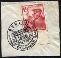 Allemagne Reich N°634 Oblitéré Sur Fragment ; Deutsches Reich Michel N°691, Qualité Superbe - Gebraucht
