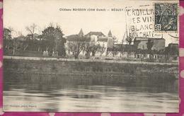D33 - Chateau BOISSON (Coté Ouest) - BEGUEY Par CADILLAC - France