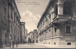 ASCOLI PICENO (AP)  CORSO UMBERTO  CASSA DI RISPARMIO  Viaggiata 1934 C.2116 - Ascoli Piceno