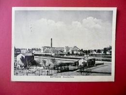 Cartolina Bottrighe Rovigo Zuccherificio Fotografia Veneto 1956 Viaggiata - Rovigo