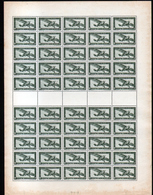 Feuille Complète De 50 Timbres N°PA 6, Neuf**, MNH - Luftpost
