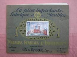 LEVITAN  1925 Superbe Catalogue 84 Pages Format 21X27  T.B.E. - Muebles