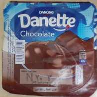 Egypt - Couvercle De Chocolate Danone Danette  New Design 20(foil) (Egypte) (Egitto) (Ägypten) (Egipto) (Egypten) Africa - Opercules De Lait