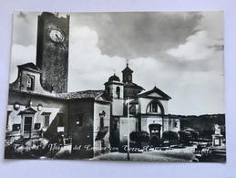 TUSCANIA  PIAZZA DEL COMUNE CON TORRE CIVICA PRIMA DEL CROLLO  - NV FG - Viterbo