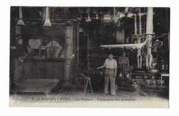 Le Bousquet-D'Orb - La Verrerie - Fabrication Des Bouteilles - - Autres Communes