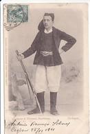 Cpa Old Pc Italie Sardaigne Villanova Monteleone Costume Homme - Otras Ciudades