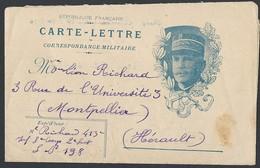 Guerre 14-18 Carte Lettre Correspondance Militaire Joffre Avec Texte Du 17/10/1916 Secteur Postal 198 - Guerre De 1914-18