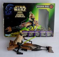 BOITE STAR WARS 1999 SPEEDER BIKE LUKE SKYWALKER Ouvert Manque Blaster Et Panneaux Arrières 1997 - Power Of The Force
