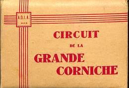 France - (06) Alpes Maritimes - Circuit De La Grande Corniche - 20 Cartes Photos - Dim 9 X 6.5 Cm - Non Classificati