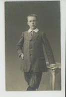 BELGIQUE - ANVERS - ANTWERPEN - Belle Carte Photo Portrait Jeune Homme Réalisé En 1911 Par Photo. Ad. NITSCHE à ANVERS - Antwerpen