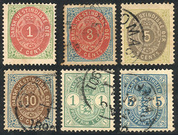 DANISH ANTILLES: Lot Of Old Stamps, Fine General Quality! - Danimarca (Antille)