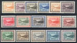 SAUDI ARABIA: Yvert 165/177, 1961 Wadi Shi Dam, Cmpl. Set Of 16 MNH Values, VF Quality! - Saudi Arabia