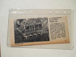 Aviation Turboréacteur SOCEMA TGAR 1008  - Coupure De Presse De 1950 - GPS/Radios